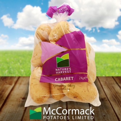McCormack Potatoes<br>2kg Cabaret